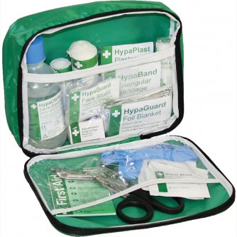 Safety First Aid Travel First Aid Kit British Standard Compliant in Nylon Case