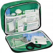 Travel First Aid Kit British Standard Compliant in Nylon Case