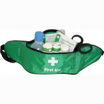 Safety First Aid Travel First Aid Kit in Bum Bag British Standard Compliant