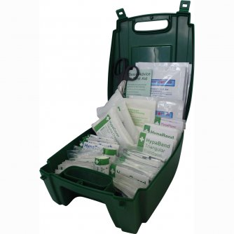 Safety First Aid Vehicle First Aid Kit British Standard  BS 8599-2 in Evolution Box 1 to 50 People
