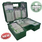 Vehicle First Aid Kit British Standard BS 8599-2 in Heavy Duty ABS Box - Large