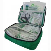 Vehicle First Aid Kit British Standard BS 8599-2 in Large Pouch