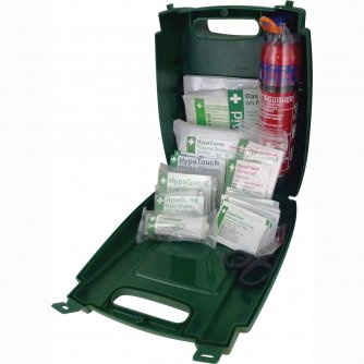 Safety First Aid Vehicle First Aid Kit British Standard Medium c/w Fire Extinguisher