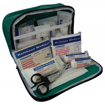 Safety First Aid Vehicle First Aid Kit Din 13164 for European Motoring