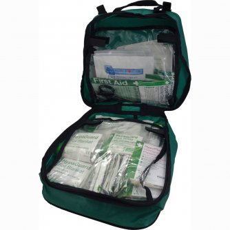Safety First Aid Vehicle First Aid Kit in Grab Bag 1 to 50 People