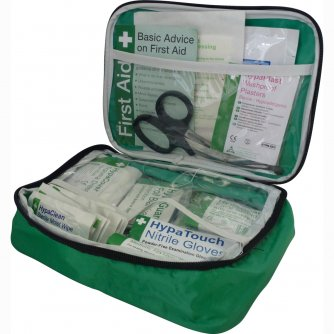 Safety First Aid Vehicle First Aid Kit Medium British Standard BS 8599-2 in Pouch