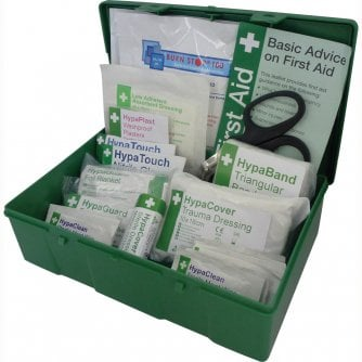 Safety First Aid Vehicle First Aid Kit Medium BS 8599-2 Green Case