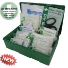 Vehicle First Aid Kit Medium BS 8599-2 Green Case