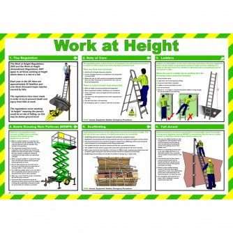 Safety First Aid Work at Height with Snap Frame