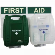 Workplace Eyewash & First Aid Point British Standard Evolution Case - Med.