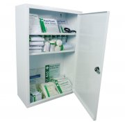 Workplace First Aid Cabinets British Standard Compliant Kit - Medium