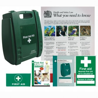 Safety First Aid Workplace First Aid Compliance Pack British Standard Compliant