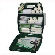 Workplace First Aid Kit British Standard BS8599 in Evolution Plus Green Case  - Small