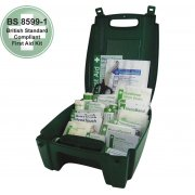 Workplace First Aid Kit British Standard Compliant Evolution Case - Small