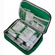 Workplace First Aid Kit  British Standard Compliant in Nylon Case, Small
