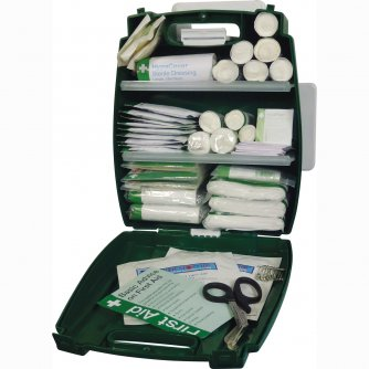 Safety First Aid Workplace First Aid Kit British Standard Evolution Plus Blue Case 1 to 50 People