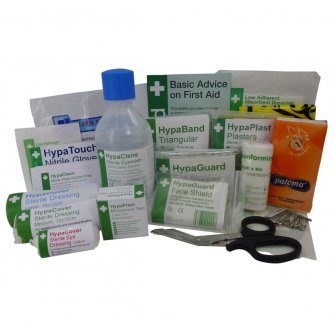 Safety First Aid Workplace First Aid Kit Refill BS8599 1 to 50 People