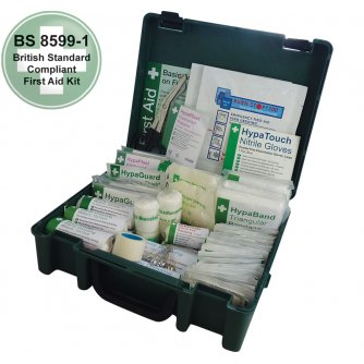 Safety First Aid Workplace Value First Aid Kit British Standard Compliant - 1 to 10 People
