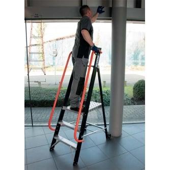SuperPro 360 Mobile Professional Platform Step Ladder 3 to 12 Treads