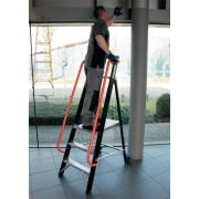 SuperPro 360 Mobile Professional Platform Step Ladder 3 to 12 Treads