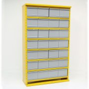 System D 28 Drawer Cabinets System 1500h x 895w x 305 or 460dmm