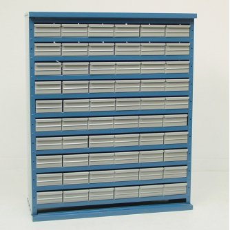 British System D 60 Drawer Cabinets System 1090mm High