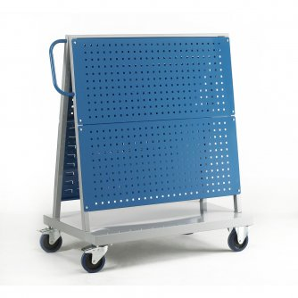 British Tool Panel Trolley Double Sided Louvre Panels