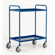 Tray Trolleys Small & Large with 2 or 3 Trays