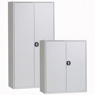 Triumph Furniture Essential Everyday Stationery Cupboard in Grey and 3 Sizes