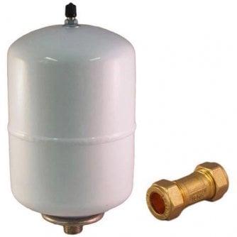 ZIP Zip Expansion Vessel & Check Valve Water Heater Kit AQ2